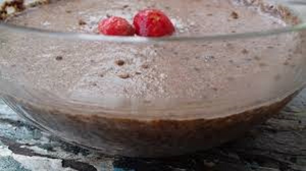 Chocolate Chia Seeds Pudding for Healthy Cholesterol Levels