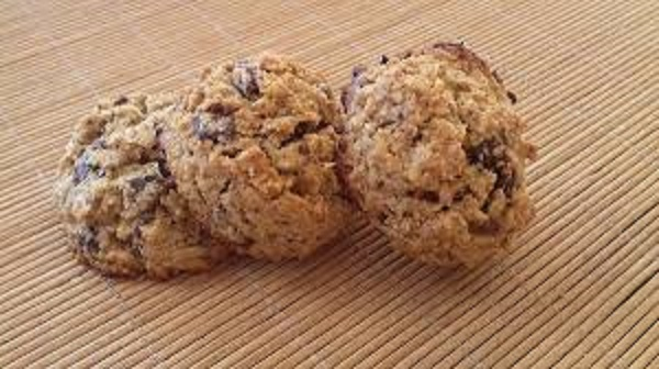 Oatmeal Cookies with Chocolate and Vanilla! Healthy Recipe