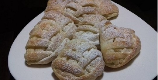Butter Twist Buns with Filling Of Your Choice! Fluffy Pastry