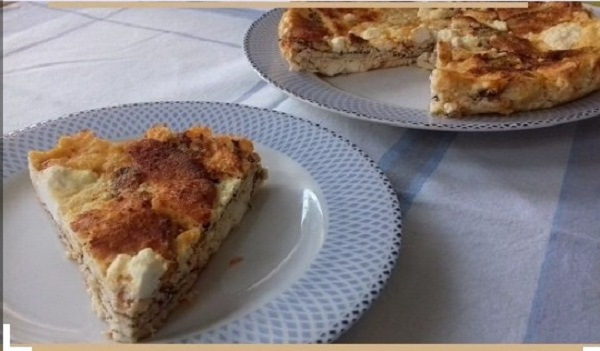 Cheese Pie Low-Carb & Picant (Flour-Free) Recipe