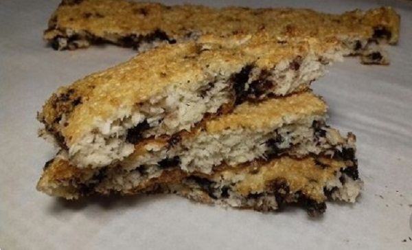 Chocolate Chips Coconut Bars- Perfect, Keto Guilt-Free Dessert