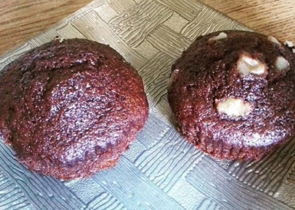 Cocoa Muffins with Coconut Flour (Keto, Gluten-Free)