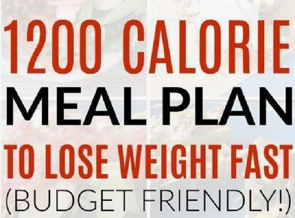 1 200 Calories Per Day & The Seven-Day Eating Plan