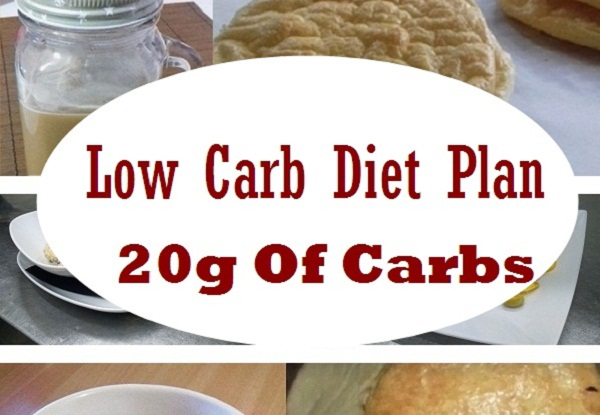 Low Carb Meal Plan That Consist of 20 Grams of Carbs per Day