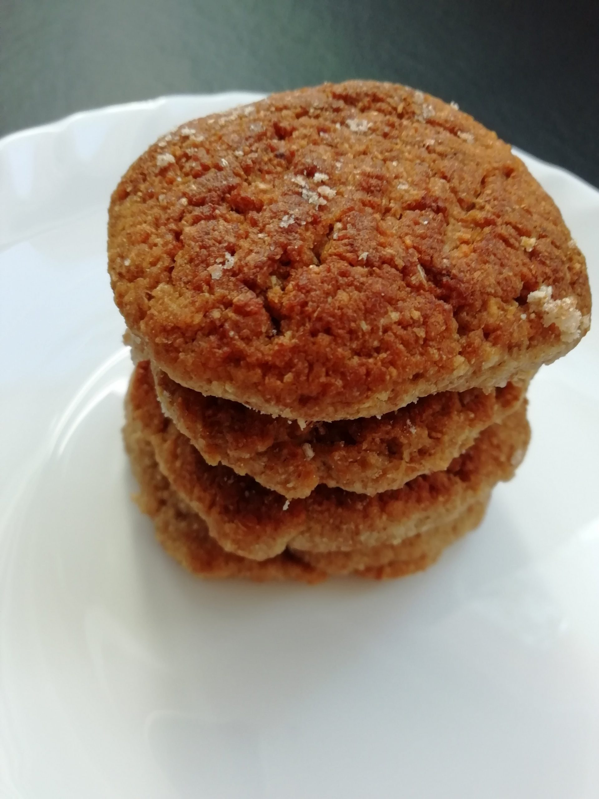 3 Ingredients Almond Butter Cookies