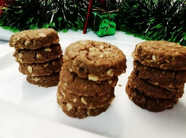 Almond Cookies with Gluten-Free Flour Christmas Recipe