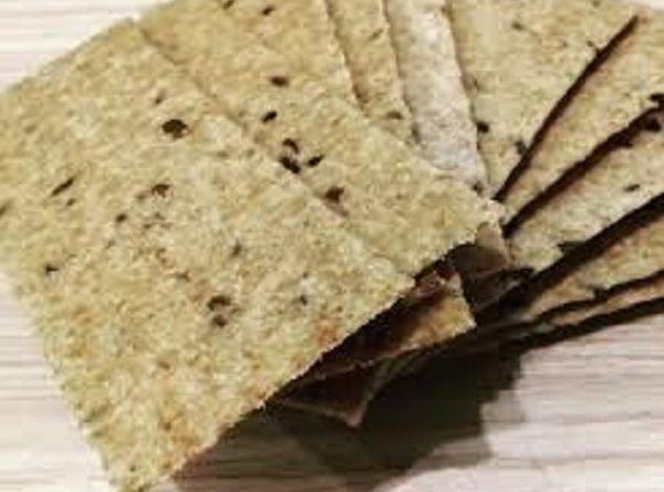 Keto Chips with Flaxseed Meal ( Low-Carb, Paleo Recipe)