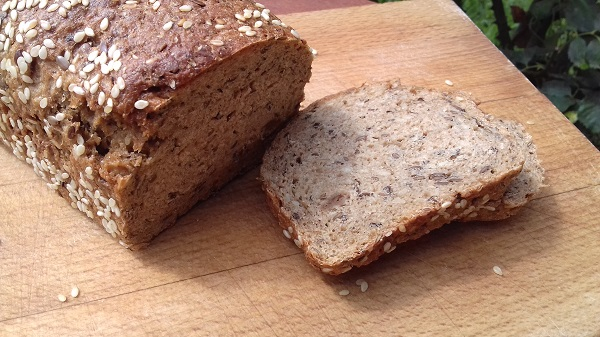 Keto Seeded Bread with Chia, Sesame & Sunflower Seeds