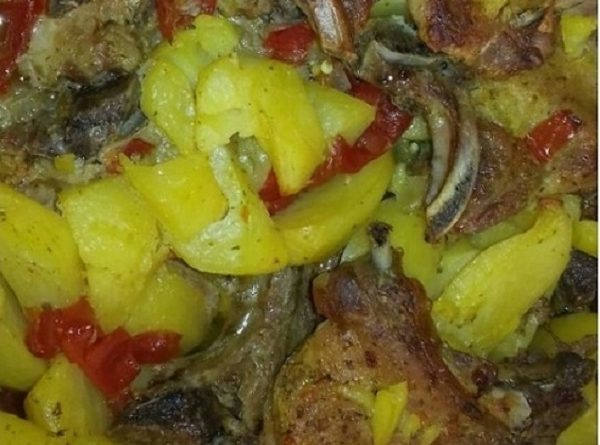 Roasted Pork Chops with Vegetables - Easy Paleo Recipe