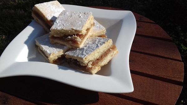 Caramel Shortbread Squares (Gluten-Free, Keto Recipe)