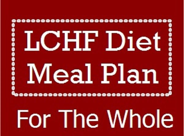 LCHF Diet Menu For The Whole Week with Recipes