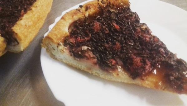 Strawberry Pie with Chocolate (Paleo and Vegan) - Recipe
