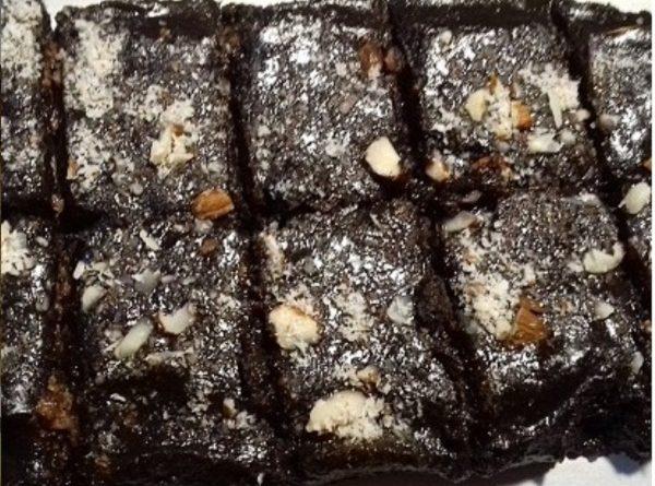 Chocolate Cubes Black & White Keto Dessert (Pure Perfection)