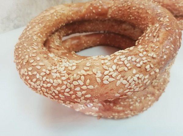 Sesame Bagels - Turkish Gevrek! Crispy From Outside, Soft Inside